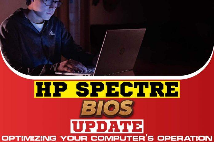 HP Spectre BIOS Update