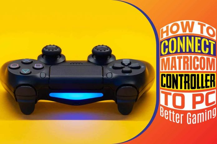 How To Connect Matricom Controller To PC